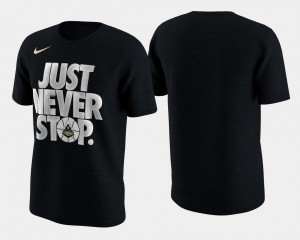 Black March Madness Selection Sunday Purdue T-Shirt Mens Basketball Tournament Just Never Stop