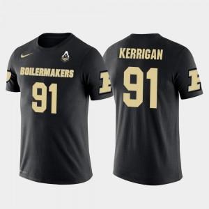 #91 Washington Redskins Football Ryan Kerrigan Boilermaker T-Shirt Black Future Stars Men