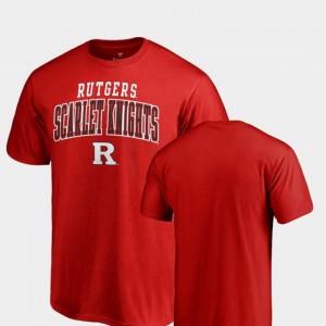 Fanatics Branded Men's Square Up Scarlet Knights T-Shirt Scarlet