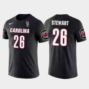 Mens #26 Black Darian Stewart South Carolina T-Shirt Denver Broncos Football Future Stars