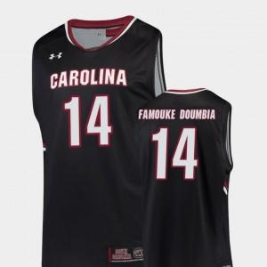 Black College Basketball Replica Ibrahim Famouke Doumbia South Carolina Gamecocks Jersey #14 For Men