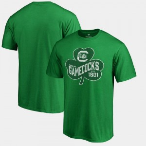 Paddy's Pride Big & Tall St. Patrick's Day For Men Kelly Green University of South Carolina T-Shirt