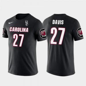 Black #27 Seattle Seahawks Football Future Stars For Men Mike Davis Gamecocks T-Shirt