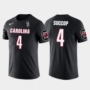 Ryan Succop South Carolina T-Shirt Black For Men Tennessee Titans Football Future Stars #4