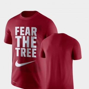 Stanford Cardinal T-Shirt Men's Legend Franchise Performance Nike Cardinal