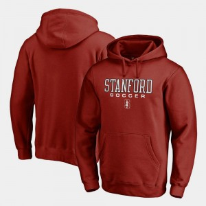 Stanford Cardinal Hoodie Soccer Fanatics True Sport Cardinal Men's