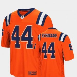 Foos-Ball Football Orange #44 Colosseum Authentic Cuse Jersey Men's