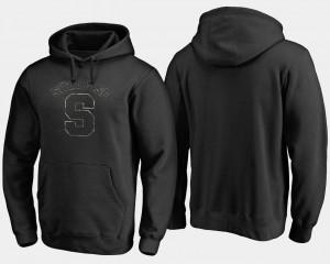 Big & Tall Black Cuse Hoodie Camo Cloak For Men
