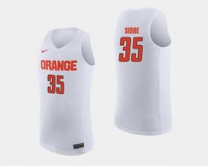 #35 College Basketball Bourama Sidibe Orange Jersey White For Men