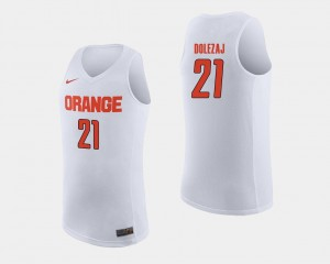 Marek Dolezaj Syracuse Orange Jersey College Basketball Men's White #21
