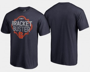 Navy 2018 March Madness Bracket Buster Basketball Tournament Syracuse T-Shirt Mens