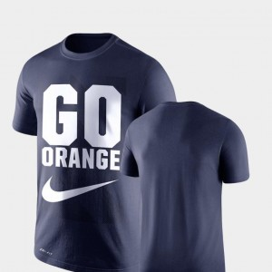 Legend Franchise Navy For Men Performance Nike Syracuse T-Shirt
