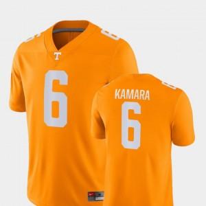 Orange #6 College Football Nike For Men's Alvin Kamara UT Jersey Game