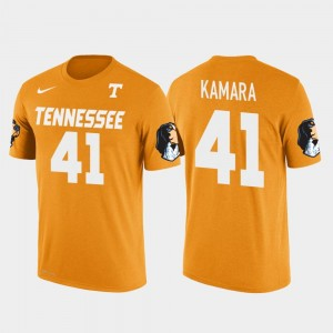 Future Stars Mens New Orleans Saints Football Orange #41 Alvin Kamara Tennessee Vols T-Shirt