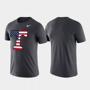 Anthracite Men Americana Legend Vols T-Shirt Performance