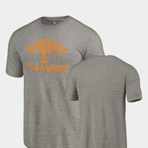 UT T-Shirt Pick-A-Sport Gray Tri Blend Distressed For Men