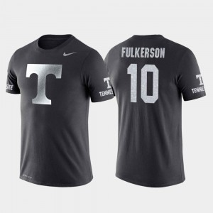 Anthracite College Basketball Performance #10 John Fulkerson Tennessee Volunteers T-Shirt Men Travel