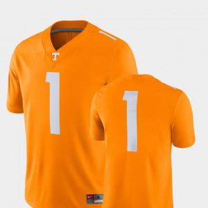 College Football #1 Tenn Orange Mens 2018 Game Nike Tennessee Jersey
