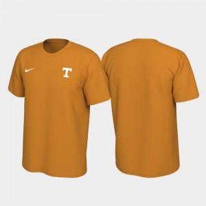 Left Chest Logo Legend Mens Vols T-Shirt Tennessee Orange