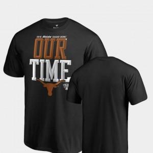 Black 2019 Sugar Bowl Bound UT T-Shirt For Men's Counter Big & Tall