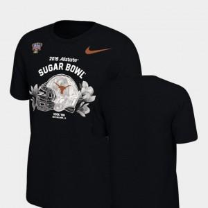 UT T-Shirt 2019 Sugar Bowl Bound Black Helmet Nike For Men's