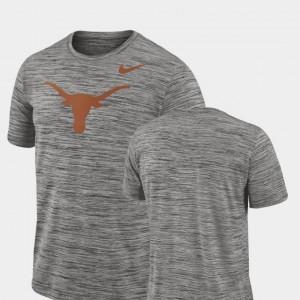 2018 Player Travel Legend Longhorns T-Shirt Men Performance Nike Charcoal