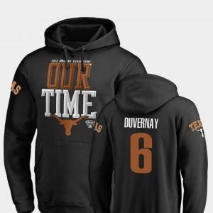 Fanatics Branded Counter Mens #6 2019 Sugar Bowl Bound Devin Duvernay University of Texas Hoodie Black