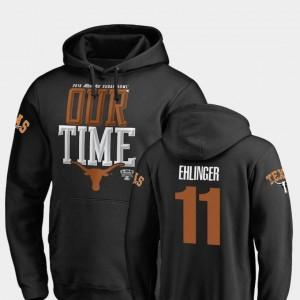 Fanatics Branded Counter 2019 Sugar Bowl Bound Black Sam Ehlinger Longhorns Hoodie #11 For Men's