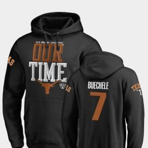 #7 Black Shane Buechele University of Texas Hoodie 2019 Sugar Bowl Bound Mens Fanatics Branded Counter