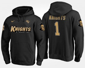 UCF Knights Hoodie Black No.1 #1 Name and Number For Men's