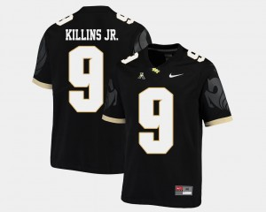 College Football Adrian Killins Jr. UCF Knights Jersey Black #9 Men American Athletic Conference