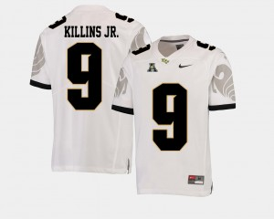 Adrian Killins Jr. UCF Knights Jersey American Athletic Conference White College Football For Men #9