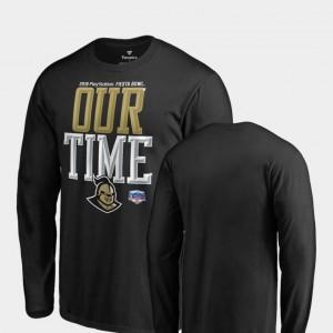 Counter Long Sleeve Fanatics Branded Black 2019 Fiesta Bowl Bound For Men UCF Knights T-Shirt