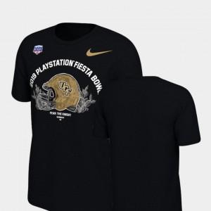 Black Knights T-Shirt 2019 Fiesta Bowl Bound Men's Helmet Nike