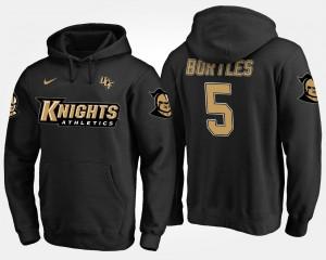 Blake Bortles Knights Hoodie Name and Number Men's #5 Black