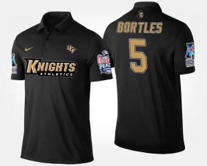 #5 Bowl Game Navy American Athletic Conference Peach Bowl Name and Number Blake Bortles University of Central Florida Polo For Men's