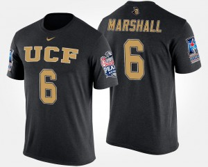 Brandon Marshall Knights T-Shirt Name and Number Black Men #6