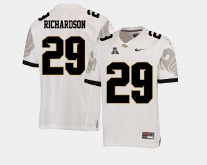 Cordarrian Richardson University of Central Florida Jersey College Football White #29 American Athletic Conference For Men