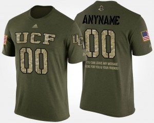 Knights Custom T-Shirt Short Sleeve With Message #00 For Men's Camo Military
