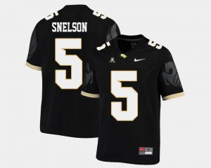 Black Men's College Football Dredrick Snelson University of Central Florida Jersey #5 American Athletic Conference