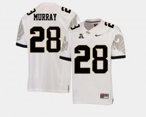 #28 White Latavius Murray UCF Knights Jersey American Athletic Conference College Football Men's