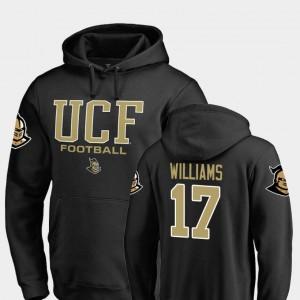Black Men's True Sport Fanatics Branded Football Marlon Williams Knights Hoodie #17