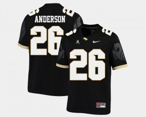 Black Men College Football #26 Otis Anderson UCF Jersey American Athletic Conference