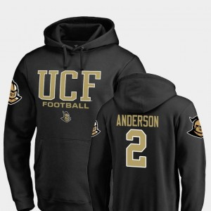 True Sport #2 Men Otis Anderson UCF Knights Hoodie Fanatics Branded Football Black