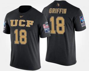 Shaquem Griffin University of Central Florida T-Shirt Black Name and Number Men #18