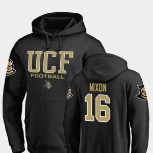 True Sport Tre Nixon UCF Knights Hoodie Fanatics Branded Football #16 Mens Black