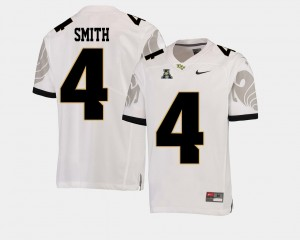 White #4 American Athletic Conference For Men's Tre'Quan Smith University of Central Florida Jersey College Football