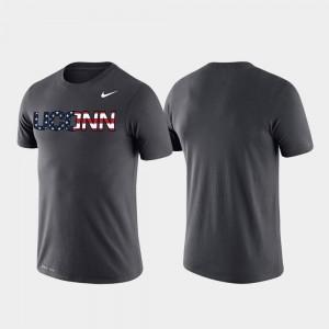 Performance Americana Legend Anthracite Men's UConn Huskies T-Shirt