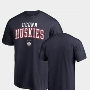 Fanatics Branded For Men Navy Square Up Huskies T-Shirt