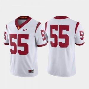 USC Trojans Jersey Limited Football Nike Men's #55 White